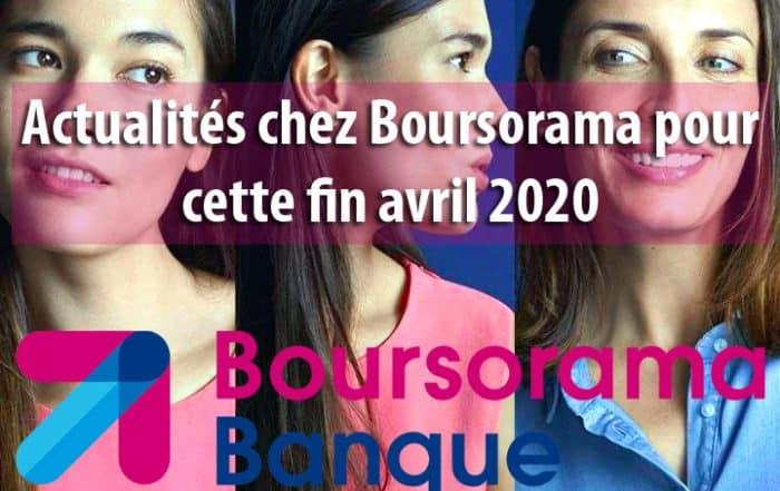 Actualités chez Boursorama pour cette fin avril 2020