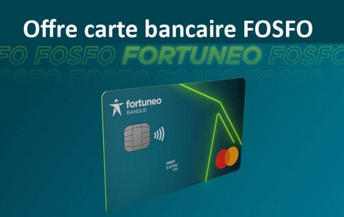 Carte bancaire Fosfo