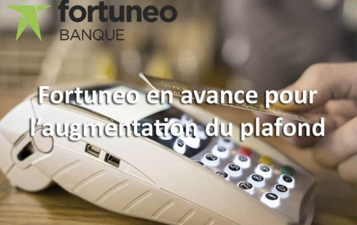 Augmentation du sans contact : Fortuneo en avance