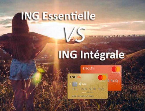 ING Essentielle ou ING Intégrale