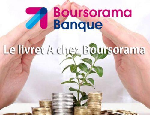 livret A chez Boursorama