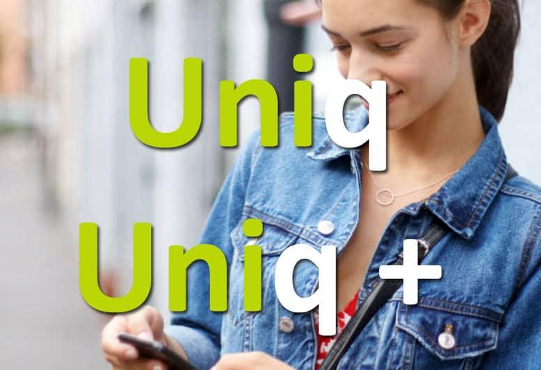Uniq ou Uniq+ de Monabanq